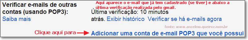 Verificar e-mail pop3