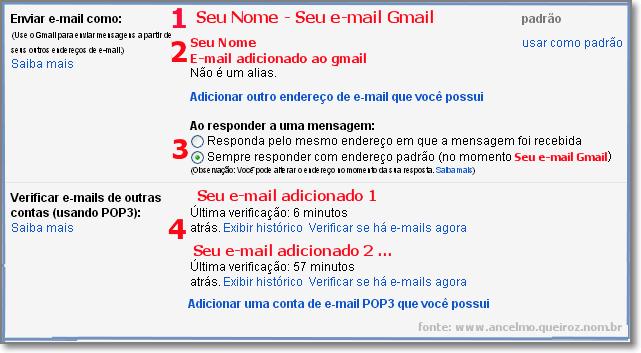 Adicionar e-mail pop3 - Completo