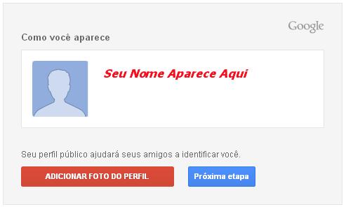 Criar e-mail Gmail - Etapa 05