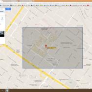 PacMan no Mapa do Google