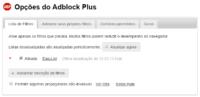 adblock plus lista de filtros